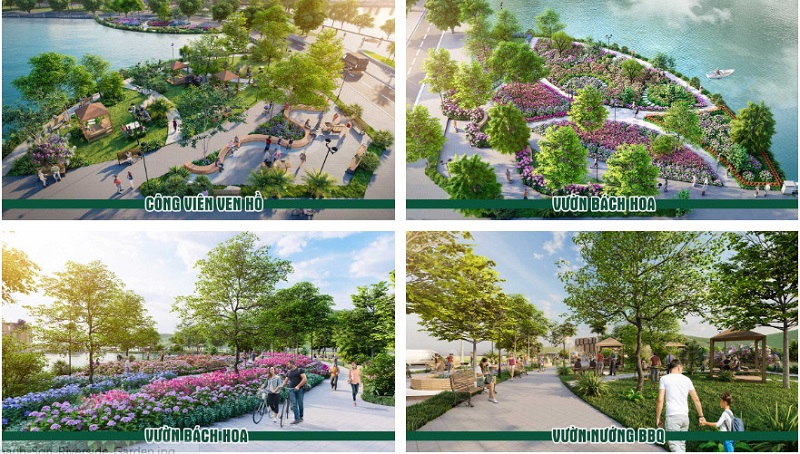Dự án Thanh Sơn Riverside Garden được quy hoạch bài bản