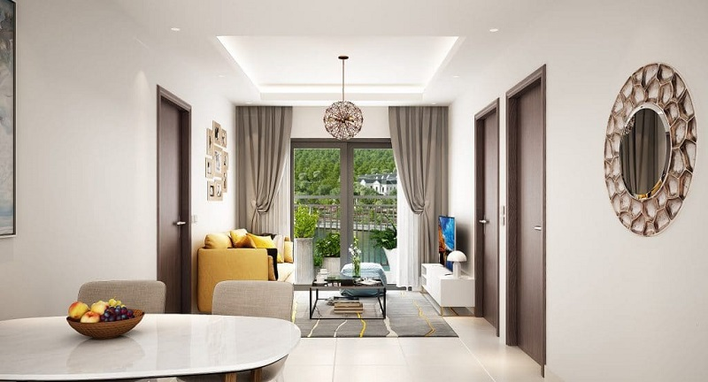 Các căn hộ thiết kế mang phong cách hiện đại