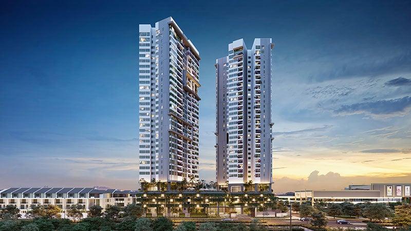 Căn hộ chung cư Park City Hà Đông được thiết kế hiện đại