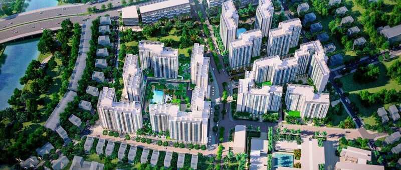 Dự án Akari City thiết kế theo phong cách hiện đại, tiện nghi, tận dụng tối đa ánh sáng tự nhiên