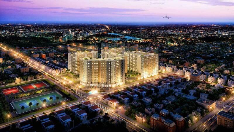 Dự án căn hộ chung cư Bình Tân Green Town Vĩnh Lộc có các tiện ích hiện đại, đẳng cấp