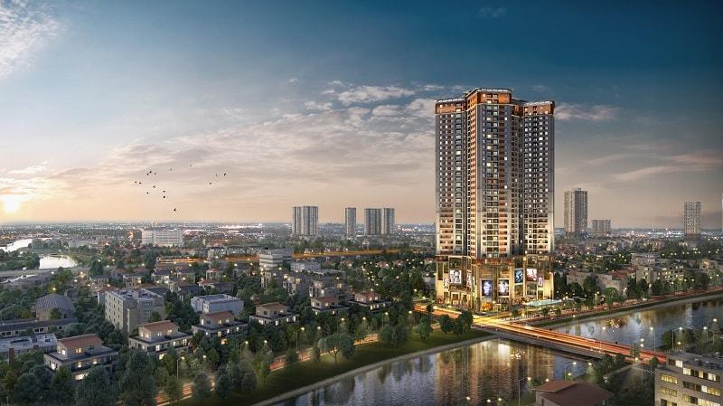 Dự án căn hộ chung cư Hà Đông - Samsora Premier 105