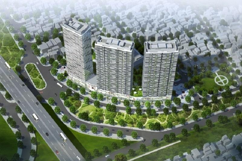 Dự án chung cư Intracom RiverSide