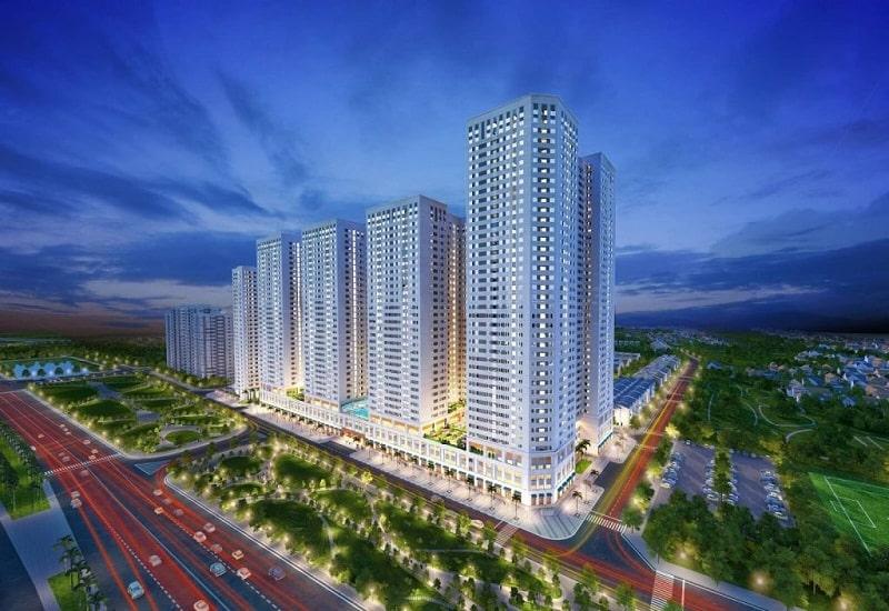 Dự án có quy mô 2058 căn