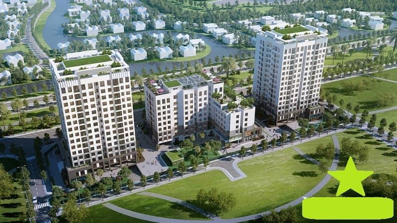 Dự án khu căn hộ Valencia Garden được xây dựng với quy mô lớn