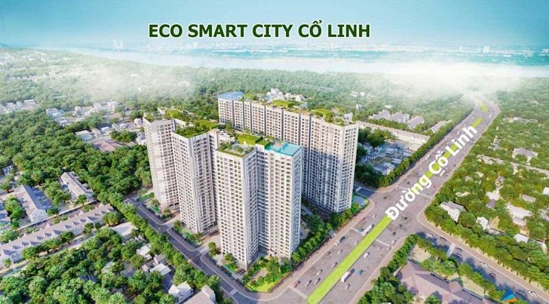 Eco Smart City Long Biên nằm trên tuyến đường Cổ Linh sầm uất