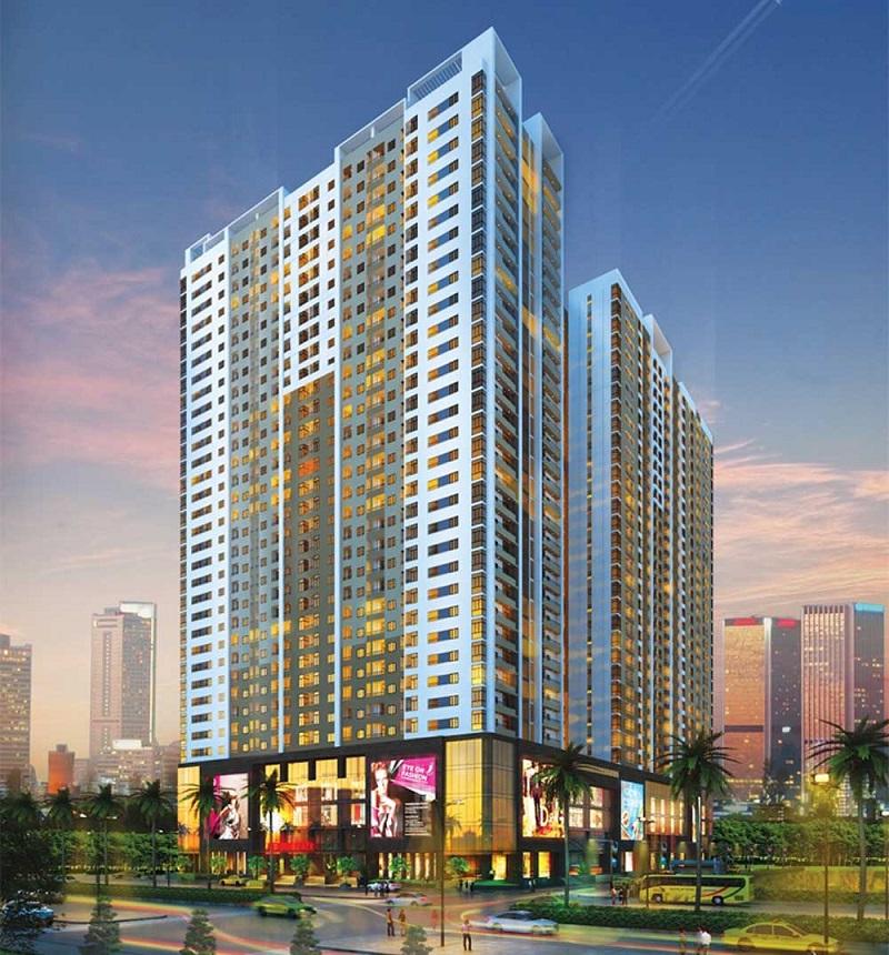Gemek Tower là 1 sản phẩm dự án chung cư khá nổi bật thuộc khu vực phía Tây Nam thành phố