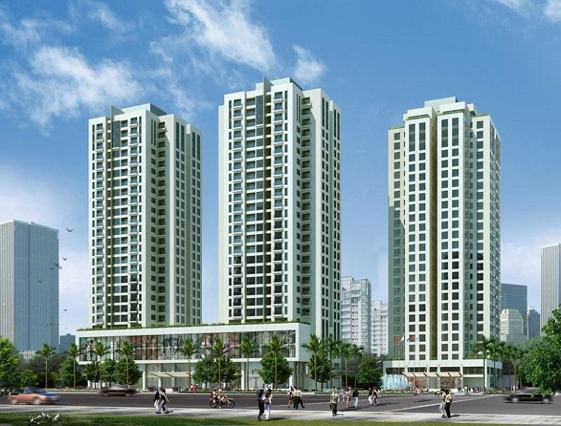Hình ảnh tổng quan căn hộ chung cư Mê Linh Scienco 5