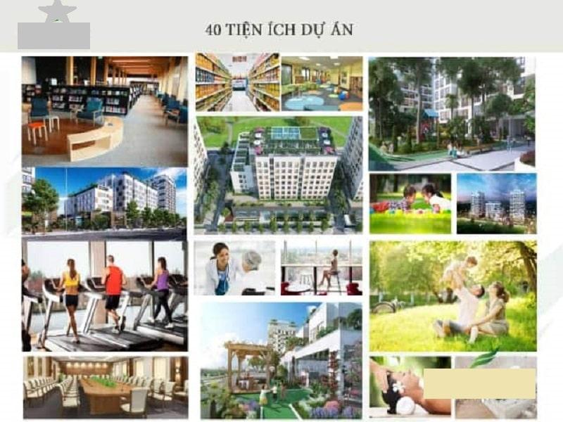 Khu căn hộ Valencia Garden tích hợp hơn 40 tiện ích cao cấp phục vụ cư dân