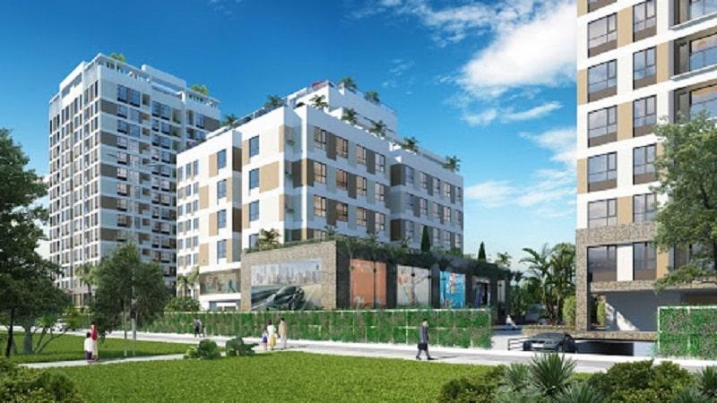 Phối cảnh dự án khu căn hộ Valencia Garden