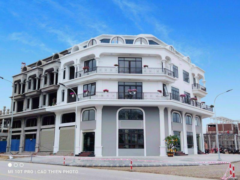Shophouse Calyx Residence 319 Uy Nỗ Đông Anh lô góc