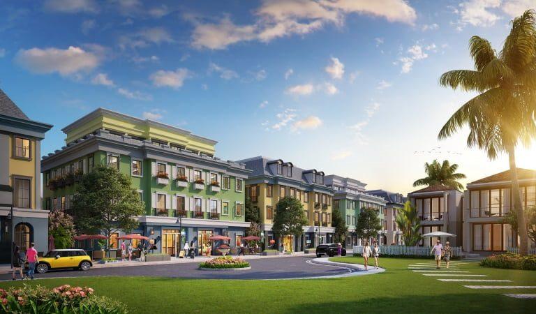 Shophouse được chia làm nhiều phân khu mang lại giá trị lợi nhuận cao