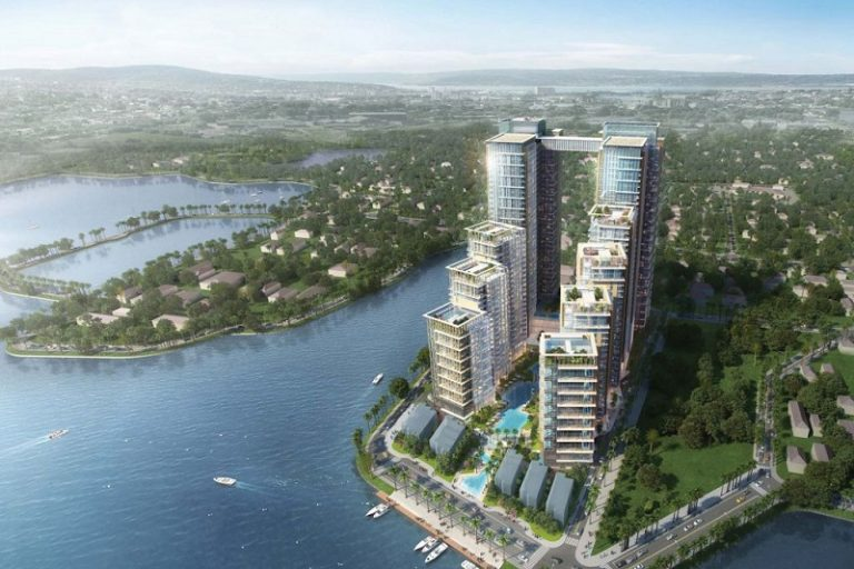 Sun Grand City 58 Tây Hồ sở hữu sở hữu 3 mặt hướng hồ với cảnh quan đẹp mắt