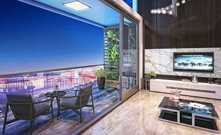 Thiết kế Căn hộ Sun Grand City Tây Hồ với không gian mở vô cùng thoáng đãng
