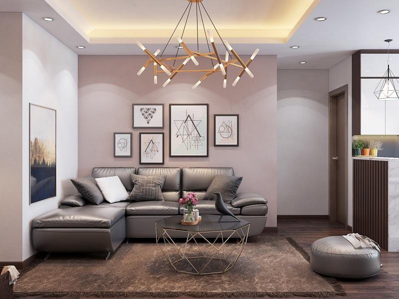 Thiết kế căn hộ tiện nghi, sang trọng