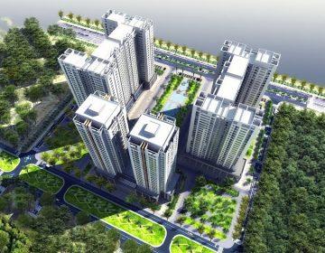 Tòa HHA có lối thiết kế kiến trúc hiện đại với đa dạng các sản phẩm với đa dạng diện tích.