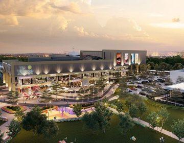 Trung tâm thương mại được thiết kế sang chảnh, hiện đại