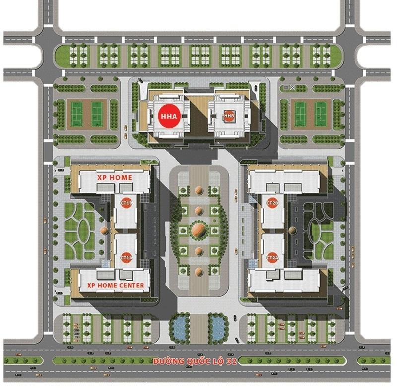 Từ vị trí của chung cư, bạn có thể di chuyển nhanh chóng vào trung tâm thủ đô chỉ với khoảng cách 7km