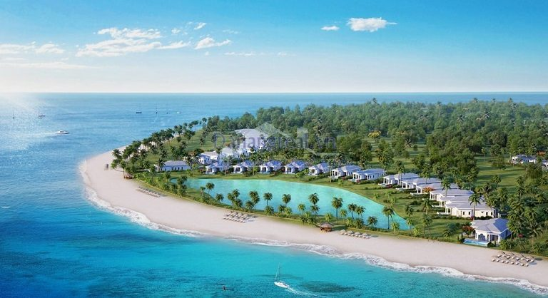 VinPearl Làng Vân Đà Nẵng nằm trên bãi biển hoang sơ và thơ mộng