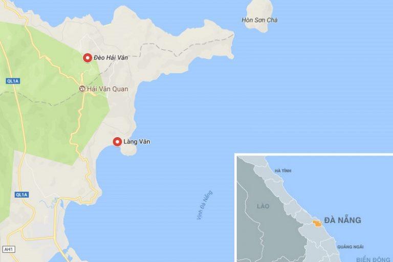 VinPearl Làng Vân sở hữu vị trí tựa sơn hướng thủy vô cùng ấn tượng dưới chân đèo Hải Vân