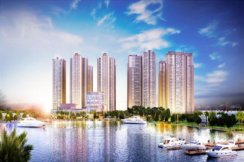 Với mật độ xây dựng chiếm 23,3%, căn hộ chung cư Bắc Từ Liêm có tổng cộng 663 căn hộ với diện tích đa dạng.