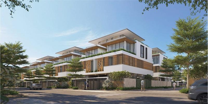 Ảnh 1: Biệt thự Meyhomes Capital Phú Quốc được thiết kế theo kiến trúc Pháp hào hoa