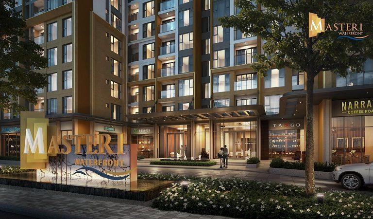 Ảnh 1: Với vị trí đẹp, shophouse Masteri WaterFront Ocean Park có lợi thế kinh doanh thuận lợi