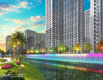 Ảnh 2: Công viên cầu vồng nổi bật với màu sắc và âm thanh sống động