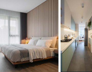Căn hộ hoàn thiện nội thất liền tường cao cấp hiện đại