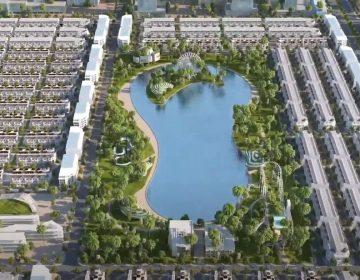 Công viên vui chơi giải trí có diện tích tương đương với hồ Hoàn Kiếm