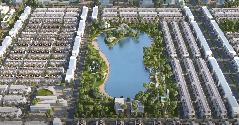 Công viên vui chơi giải trí có diện tích tương đương với hồ Hoàn Kiếm (Hình ảnh minh họa mang tính định hướng sản phẩm)