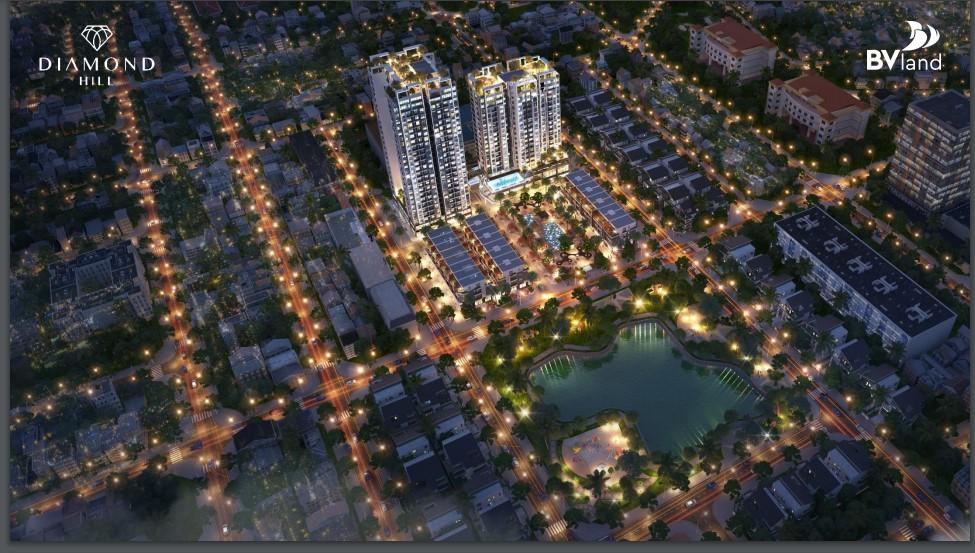 Dự án chung cư Bách Việt 2 Diamond Hill