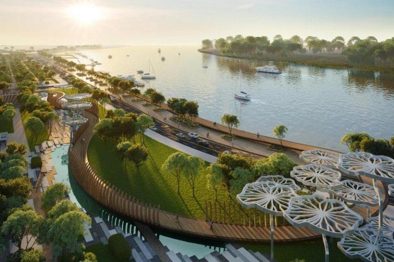 Dự án được thiết kế hiện đại thoáng đãng ngập tràn không gian xanh