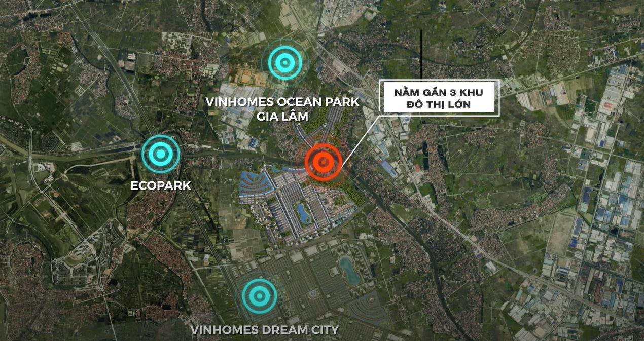 Dự án Vinhomes Đại An nằm rât gần 3 Khu đô thị lớn (Hình ảnh minh họa mang tính định hướng sản phẩm)
