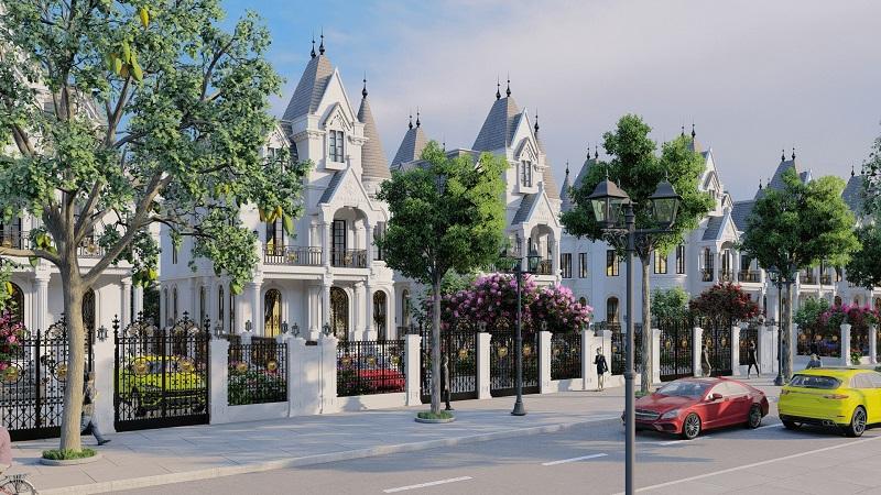 Phan Khu Biet Thu Green Center Villas - Lotus Center Hồ Tây   Chính sách & Giá Bán Chung Cư Mới Nhất 2021
