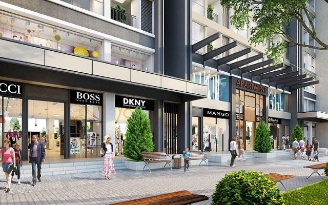 Shophouse Khối đế The Origami tại Vinhomes Grand Park được thiết kế dưới dạng Duplex nhằm tối ưu hóa công dụng của căn nhà