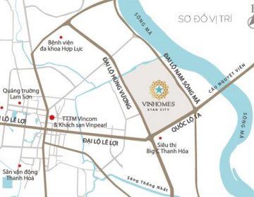 Star City tọa lạc tại vị trí đắc địa