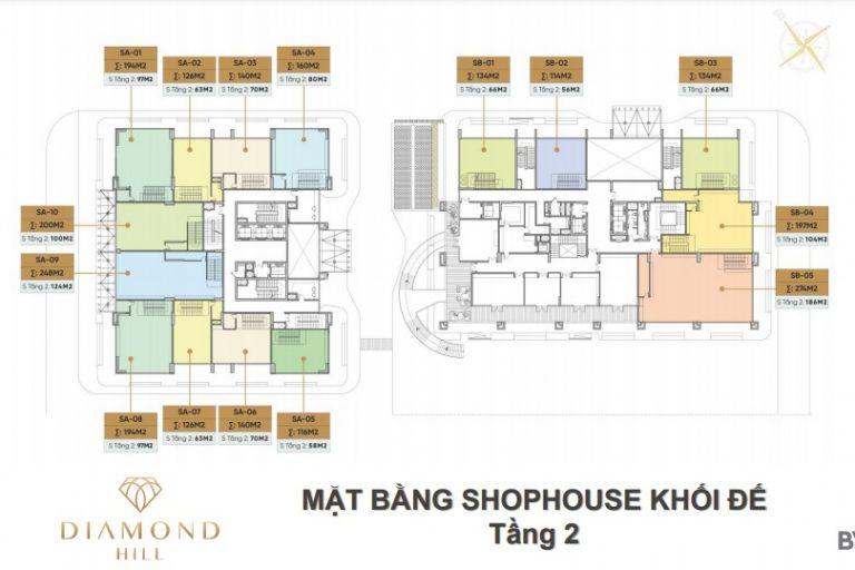 Thiết kế căn hộ 2 và 3 phòng ngủ đặc biệt