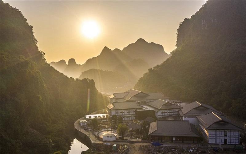 Toàn bộ dự án Yoko Onsen Quang Hanh hiện lên như một ngôi làng xinh xắn tại Nhật Bản