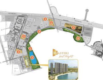 Vị trí dự án Masteri Smart City Tây Mỗ