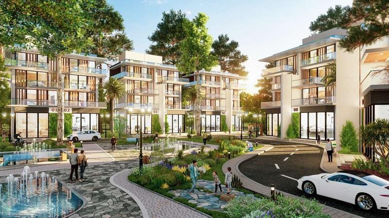 Biệt thự liền kề Ecopark Vinh nằm trong khu đô thị sinh thái lớn nhất TP Vinh
