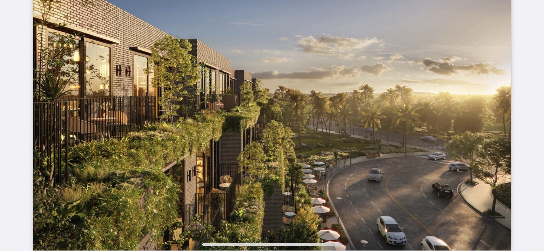 Ecopark Nghệ An nằm trong khu vực được quy hoạch hạ tầng đồng bộ (Hình ảnh minh họa mang tính định hướng sản phẩm)