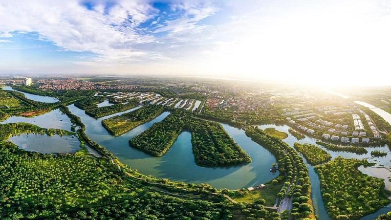 Ecopark Vinh là khu đô thị sinh thái quy mô rộng lớn nhất tại Nghệ An (Hình ảnh Ecopark Hưng Yên - Hình ảnh mang tính chất minh họa định hướng sản phẩm)