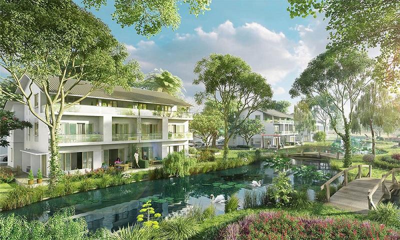 Khu đô thị Ecopark Nghệ An sở hữu nhiều tiện ích, ngập tràn trong không gian xanh mát
