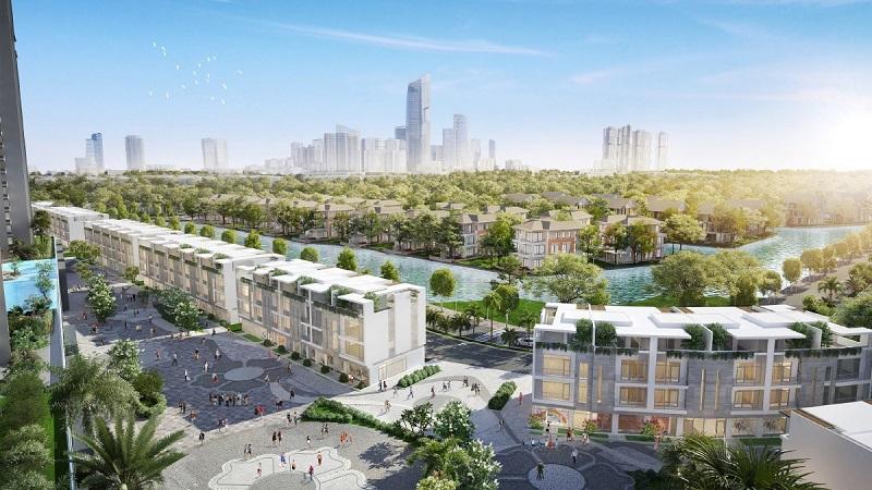 Shophouse Ecopark Vinh là dòng sản phẩm chiến lược của dự án Ecopark Nghệ An