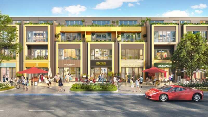 Ảnh 1: Shophouse Gem Sky World Phú Quốc được quy hoạch ở vị trí đẹp thuận lợi kinh doanh