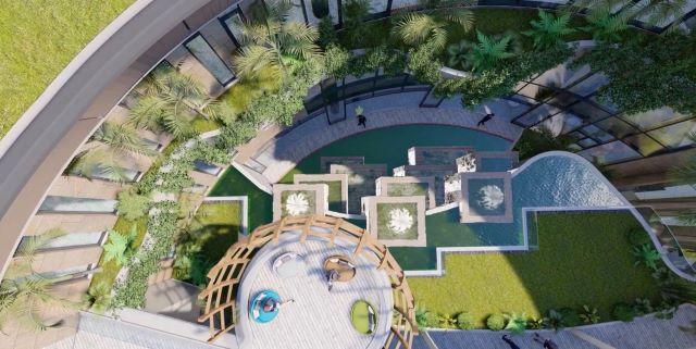 Biệt thự Merry Land sở hữu chuỗi tiện ích đẳng cấp với không gian sống xanh
