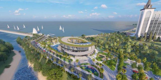 Các căn biệt thự tại Hải Giang Merry Land được thiết kế theo cảm hứng từ Shangri-Land