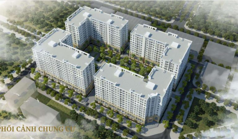 Dự án FLC Tropical City Hạ Long gồm 4 tòa chung cư