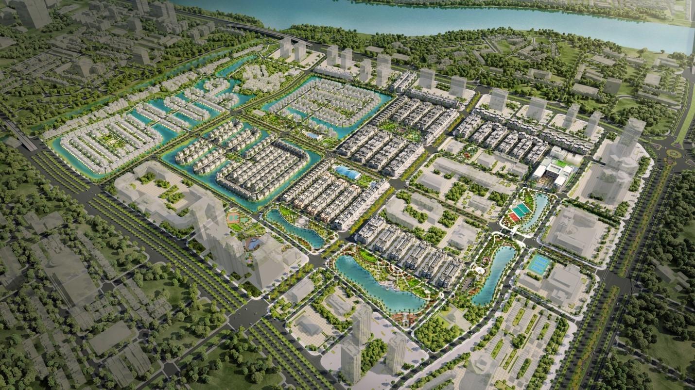 Mặt bằng dự án Vinhomes Star City quy mô 147,5ha